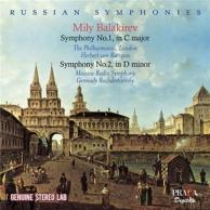 symphonies n° 1 et 2
