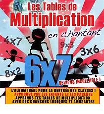 Apprends les tables de multiplication en chantant cd - Tables de multiplication en chantant ...