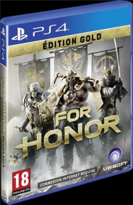 for honor - édition gold (PS4)