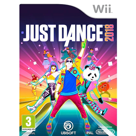just dance 2018 wii jeu musical espace culturel e leclerc. Black Bedroom Furniture Sets. Home Design Ideas