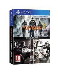 pack 2 jeux : rainbow six siege et the division (PS4)