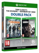 pack 2 jeux : rainbow six siege et the division (XBOXONE) - Microsoft Xbox One