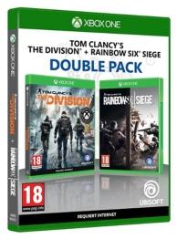 pack 2 jeux : rainbow six siege et the division (XBOXONE)