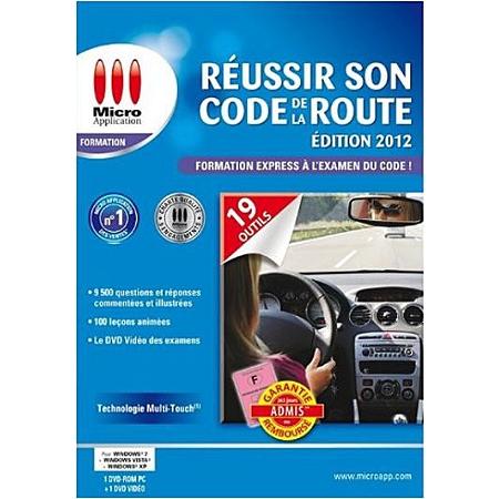 reussir son code de la route edition 2012 pc code de la route espace culturel e leclerc. Black Bedroom Furniture Sets. Home Design Ideas