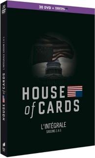 coffret house of cards, saisons 1 à 5