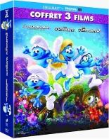 coffret les Schtroumpfs 3 films: les Schtroumpfs ; les Schtroumpfs 2 ; le village perdu -