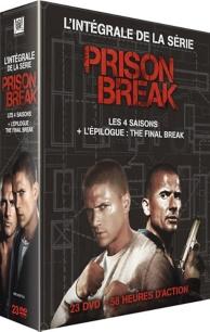 coffret intégrale prison break : saisons 1 à 4 ; l'épilogue : the final break