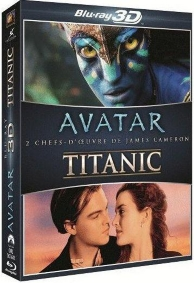 coffret Cameron : avatar ; Titanic