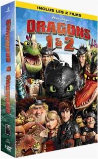 coffret dragons : dragons ; dragons 2