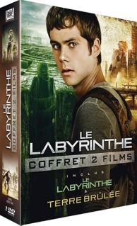 coffret le labyrinthe : le labyrinthe : la terre brûlée