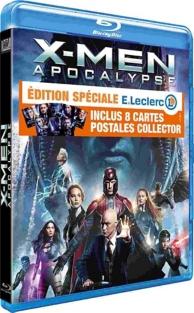 X-Men Apocalypse + 8 cartes postales Édition Spéciale E.Leclerc
