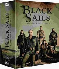 coffret black sails, saisons 1, 2 et 3