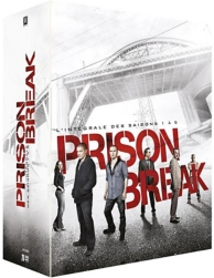 coffret prison break, saisons 1 à 5