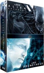 coffret alien 2 films : Covenant ; Prometheus -