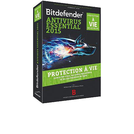 bitdefender antivirus essential 2015 pc antivirus espace culturel e leclerc. Black Bedroom Furniture Sets. Home Design Ideas