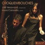 croquembouches, récital pour saxophone et piano - LauraCaravello, JoëlVersavaud