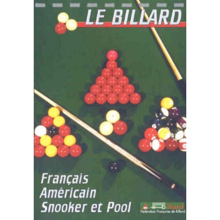 le billard francais americain snooker et pool dvd dvd espace culturel e leclerc. Black Bedroom Furniture Sets. Home Design Ideas