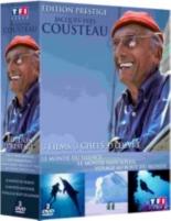 coffret Cousteau : le monde du silence ; le monde sans soleil ; voyage au bout du monde