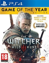 the witcher 3 : wild hunt - Edition GOTY (PS4)