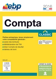 EBP compta classic 2016 (PC) (1 license )