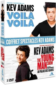coffret Kev Adams - les spectacles