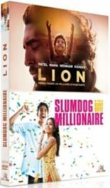 coffret Dev Patel : slumdog millionaire ; Lion -