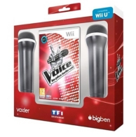 the voice : la plus belle voix (2 micros inclus) (WII)