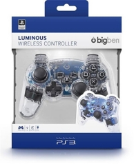 manette officielle pour Playstation 3 - clear (PS3)