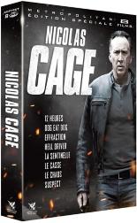 coffret Nicolas Cage 8 films -