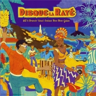 disque la Rayé - 60's french west indies boo-boo-galoo