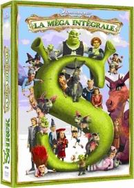 coffret Shrek quadrilogie