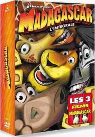 coffret trilogie Madagascar