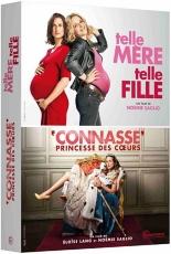 coffret Camille Cottin 2 films : telle mère telle fille ; connasse, princesse des coeurs -