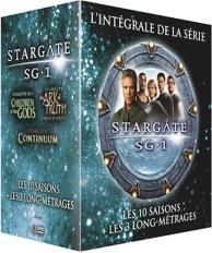 coffret intégrale Stargate sg-1 ; les 3 longs-métrages