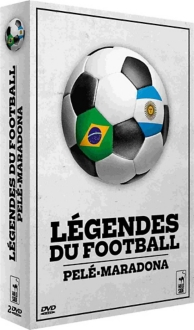 coffret légendes du foot : Pelé ; Maradona