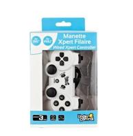 manette experte filaire (1m) pour WiiU et Wii - blanche (WII U)