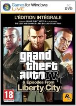 GTA IV et episodes from Liberty City - édition intégrale  (PC) - Jeux PC