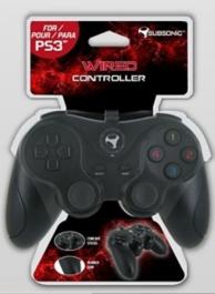 manette filaire pour console Playstation 3 (PS3)