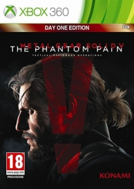 metal gear solid V - the phantom pain - édition day one (XBOX360)