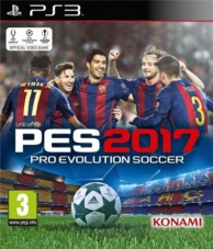 PES  pro evolution soccer 2017 (PS3)