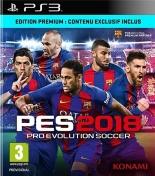 PES  pro evolution soccer 2018 - Premium D1 Edition (PS3) - Playstation 3