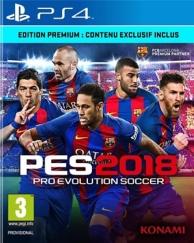 PES  pro evolution soccer 2018 - Premium D1 Edition (PS4)