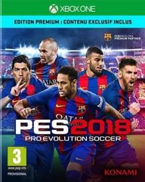 PES  pro evolution soccer 2018 - Premium D1 Edition (XBOXONE) -