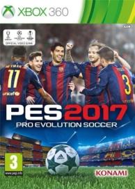 PES  pro evolution soccer 2017 (XBOX360)
