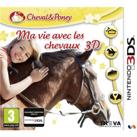 ma vie avec les chevaux 3ds. Black Bedroom Furniture Sets. Home Design Ideas