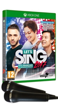 let's sing 2017 - hits français et internationaux (2 micros inclus) (XBOXONE)