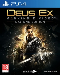 deus ex - mankind divided - day one edition (PS4)