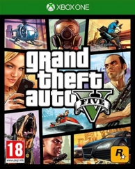 GTA 5 - grand theft auto V (XBOXONE)