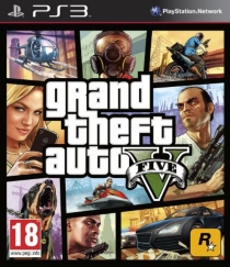 GTA 5 - grand theft auto V (PS3) -