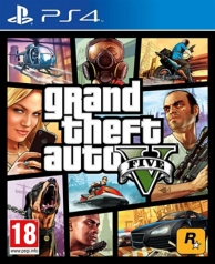 GTA 5 - grand theft auto V (PS4)